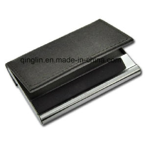 Superior Quality PU Leather Business Name Card Holder (QL-MPH-0014-1) pictures & photos