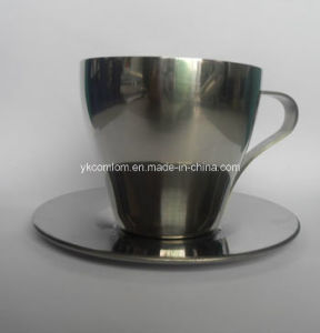 300ml Stainless Steel Coffee Mug Set pictures & photos