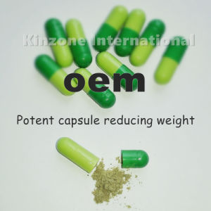 Lida Capsules of Weight Loss Slimming Light Green and Dark Green Capsule pictures & photos