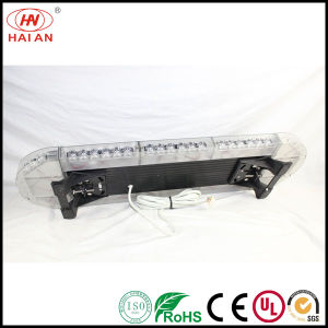Aluminum Top Super Slim Emergency LED Warning Light Bar Ambulance Fire Engine Police Car Lightbar Use The Police Car to Open up The Road pictures & photos