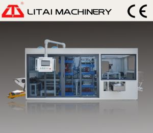 Full Automatic Three-Station Thermforming Machine Making Container Plate and Tray pictures & photos