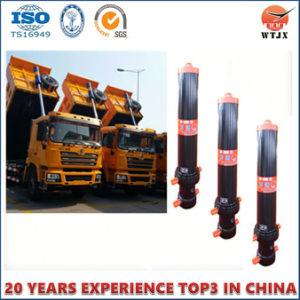 5 Stage Hyva Type Telesopic Hydraulic Cylinder for Dump Truck pictures & photos