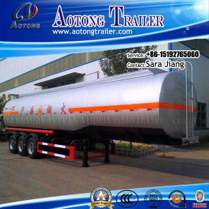 China Factory Fuel Oil Tanker Semi Trailer for Sale (25-60cbm) pictures & photos