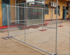 USA Standard 6ftx12FT Construction Temporary Chain Link Fence/Fence Panel pictures & photos