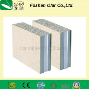 EPS Sandwich Wall Panel--Fiber Cement Board as Surface Board pictures & photos