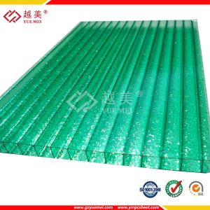 3mm Bending Diamond Embossed Polycarbonate Sheet for Door and Window Covering pictures & photos