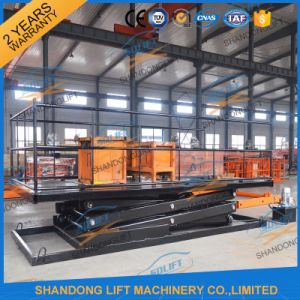 Hydraulic Scissor Car Elevator Home Car Lift for Sale pictures & photos