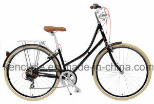 ">>>2017 New Design 28"" Retro Hi-Ten Dutch Holand Oma Bike Vintage City 7speed Bike/ pictures & photos"