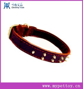 Geuine Leather Dog Collor&Leads pictures & photos