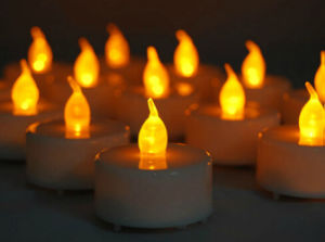 Colorfulled LED Ceramic Candle Holder pictures & photos