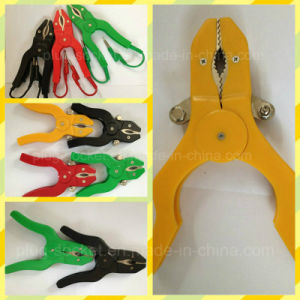 20A Copper Clip PVC Boot Battery Clip/Alligator Clip (Rj-Y1027) pictures & photos