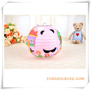 2015 Promotional Gift Children DIY Animal Paper Lantern Party Favor Hall Decoration Hanging Cartoon DIY Paper Lantern Best Sell (TY11016) pictures & photos