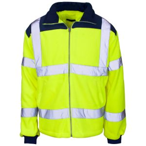 High Quality High Visibility Safety Fleece Jacket with En20471 (C2491) pictures & photos