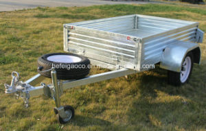 High Quality Hot Dipped Galvanized Box Trailer Gc-B64