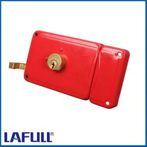 2020 Iron Lock Case Half Brass Plug Door Rim Lock pictures & photos