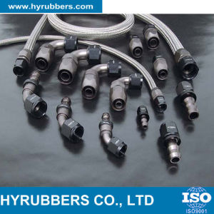 Female Thread Swaged Hydraulic Hose Pipe Fittings pictures & photos