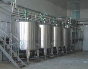 Ice Cream Blending Tank/ Mixing Tank/Agitating Tank