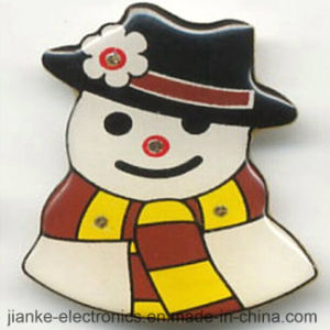 LED Flashing Snowman Badges with Customized Design (3161) pictures & photos