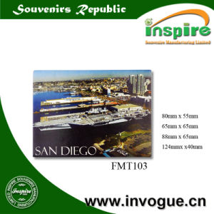 OEM Souvenir Tin Plate Magnet for Tourist pictures & photos