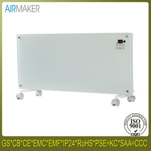 Crystal Glass Flat Convector Heater with LED Screen & Remote Control pictures & photos