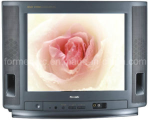 "14"" Normal Flat TV 14A CRT TV CRT Television pictures & photos"