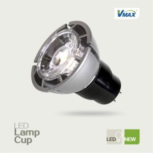 Gu 5.3 LED Spotlight Dimmable 4W Dimmable COB LED Light GU10 pictures & photos