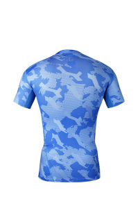 Compression T-Shirt Gym Bodybuilding Fitness Sports Wear for Men (JSY-2015057) pictures & photos