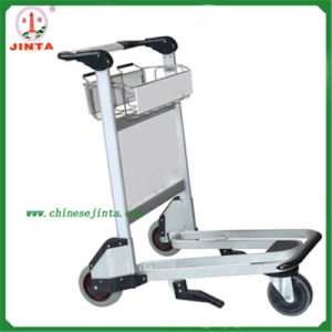 Aluminum Alloy Airport Luggage Cart (JT-SA01) pictures & photos