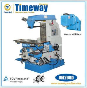 Multi-Purpose Knee-Type Universal Miller (Horizontal Milling Machine) pictures & photos