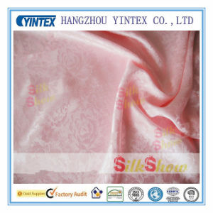 Hot Sale Embroidered Silk Organza Fabric pictures & photos