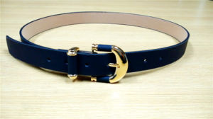 Smart Skinny PU Belt for Women Dresses pictures & photos