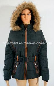 Outdoor Clothes Fleece Warm Down Winter Women′s Jacket & Coat pictures & photos