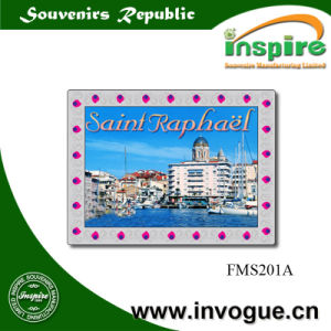 Customized Magnet with Foil Sticker for Souvenir pictures & photos