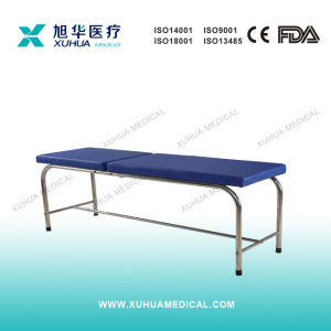 Stainless Steel Head Adjustable Examinaction Couch pictures & photos