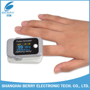 OLED Screen Fingertip Pulse Oximeter with Bluetooth