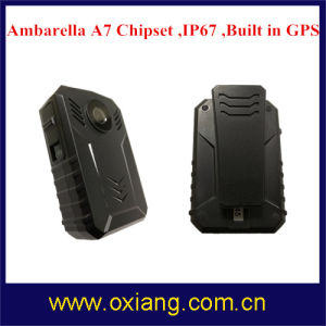 Multi-Functional Built in GPS IP67 1080P Police Body Worn Audio / Visual / Video Recorder pictures & photos