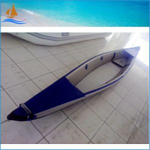 Wholesale New Developed Drop Stitch Kayak White&Blue 0.9mm Kayak pictures & photos