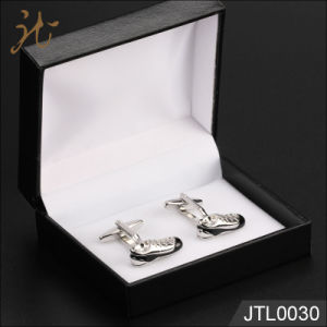 Fashion Nice Quality Shoe Design Metal Novelty Cuff Links pictures & photos