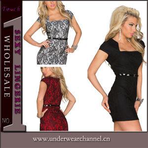 Discount Retro Style Ladies Short Career Mini Casual Dress (N178) pictures & photos
