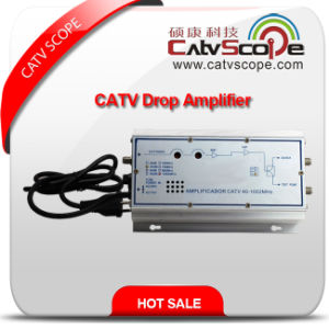 Professional Supplier Portable CATV Indoor/House Drop Line Hybrid Amplifier pictures & photos
