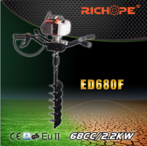 Double Handle Earth Drill (ED680F) pictures & photos