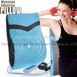Vibration Heated Massage Back Pad with Timer, Optional Heating, 6 Vibrating Massage Modes and 5 Speeds pictures & photos