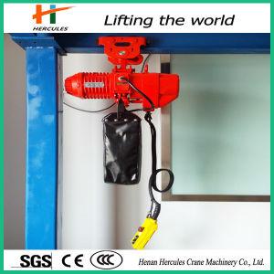 Small Chain Hoist Electric Mini Chain Hoist Block pictures & photos