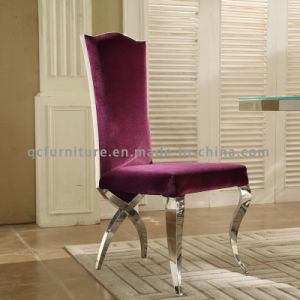 Luxury Soft High Back Dining Chair for Wedding pictures & photos