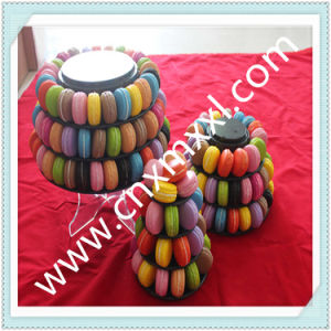 Macaron Display Packaging with Printed