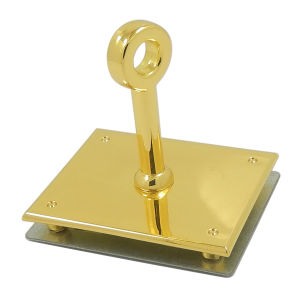 Square Gold Handbag Metal Lock pictures & photos