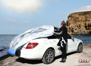 Hand Install and Auto Car Cover