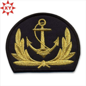 2015 100% Silk Embroidered Badge Patch pictures & photos