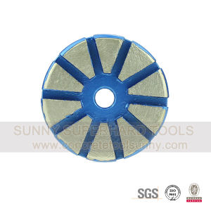 Prep/Master Diamond Metal Bond Floor Grinding Plate Wheel Tool pictures & photos