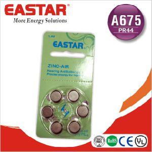 A675 Zinc Air Button Cell pictures & photos